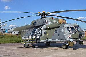 Три вертолета Ми-8АМТШ поступят на авиабазу в Забайкалье