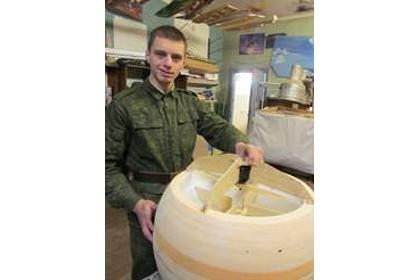 Белорусские курсанты создали шар-беспилотник