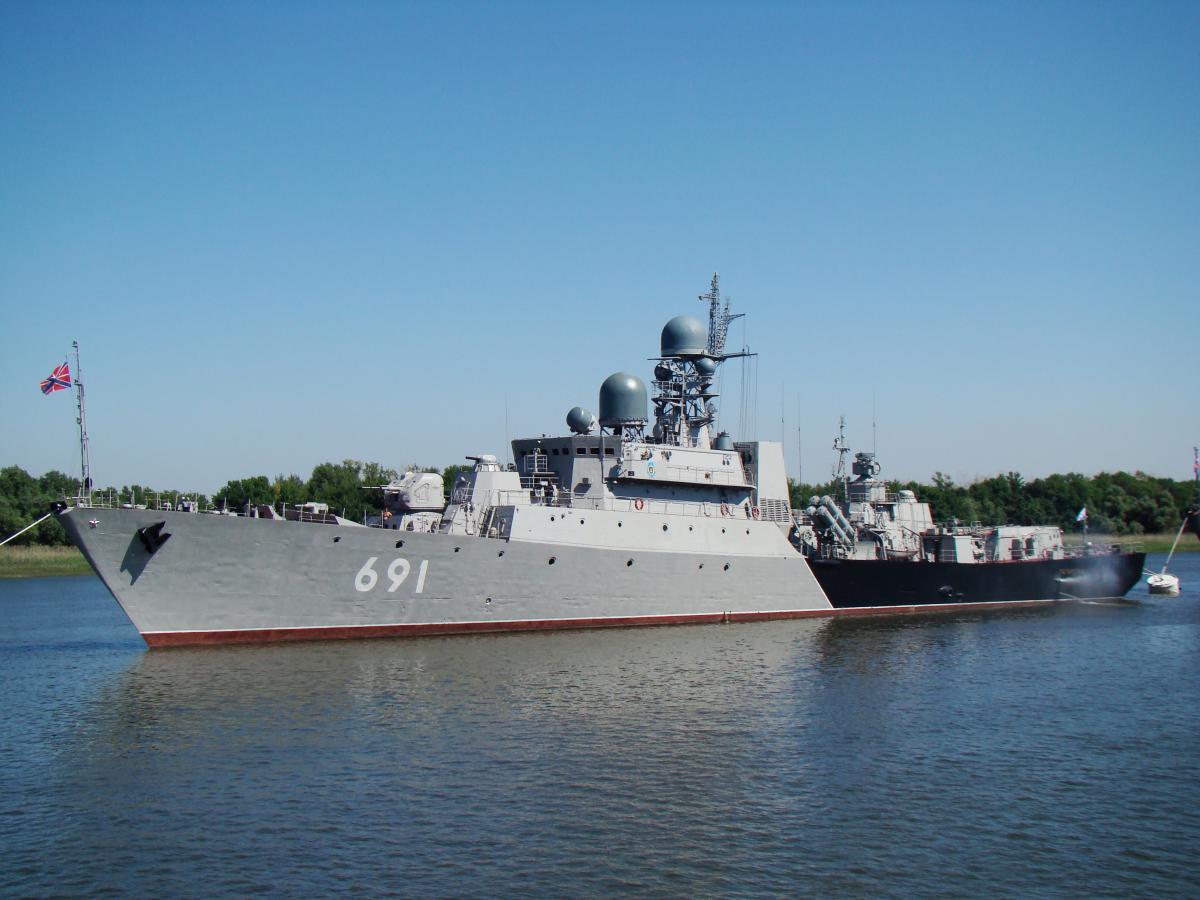 Построенный в Зеленодольске корабль «Татарстан» готовится к бою