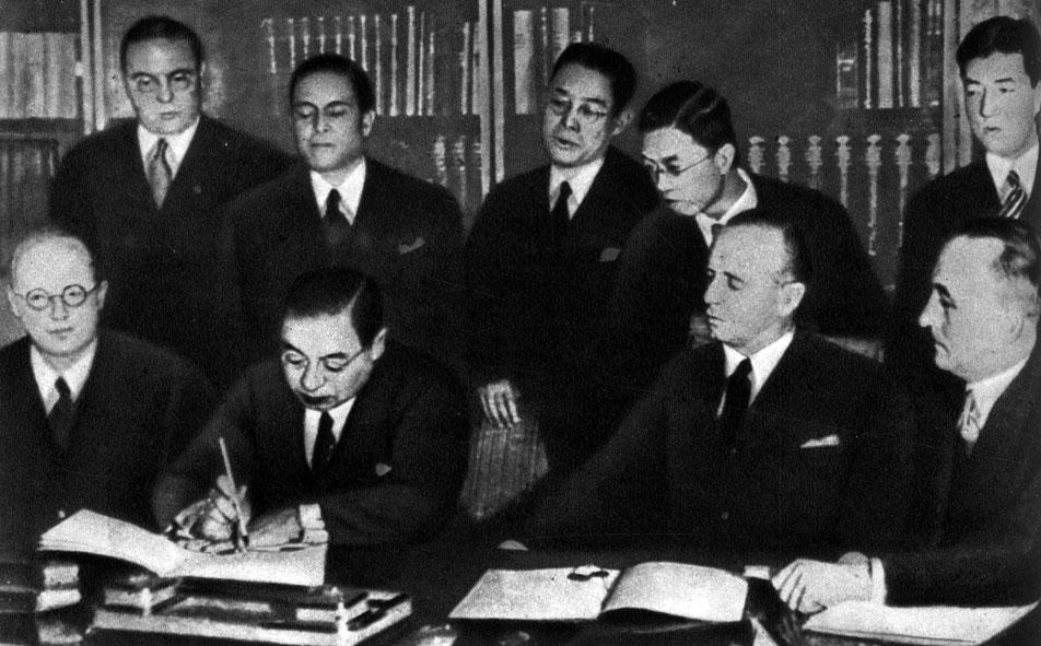 Министры иностранных дел стран антикоминтерновского пакта