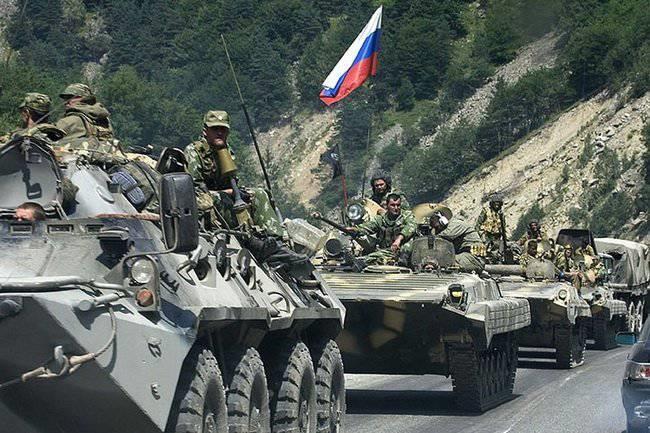 ОСЕТИНО-ГРУЗИНСКИЙ КОНФЛИКТ 2008 ГОДА: Ход боевых действий