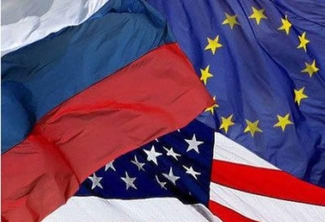 Соотношение сил между Россией и западной локальной человеческой цивилизацией и реализация ими противоборствующих стратегий