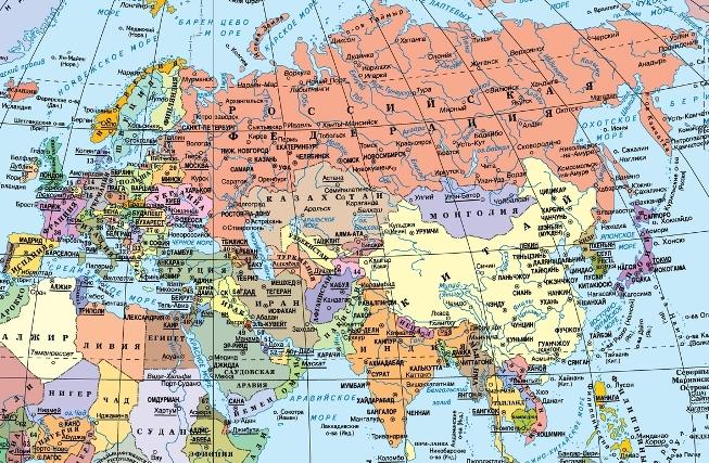 Модель развития наиболее вероятного долгосрочного сценария международной обстановки и его вариантов в Евразии