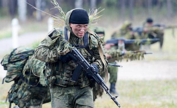 Про русский спецназ гру и бой