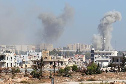 Российские военные пострадали при обстреле возле Алеппо