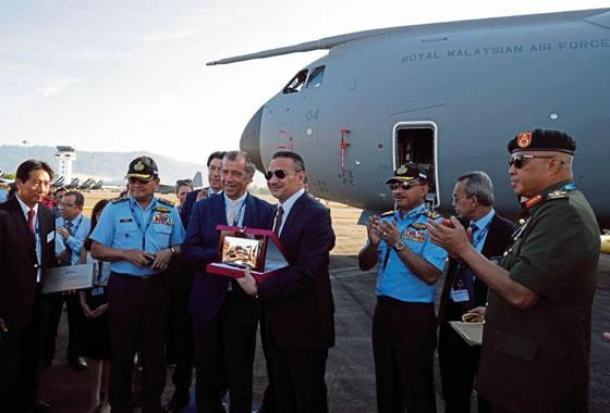 ВВС Малайзии приняли четвертый самолет ВТА A-400M «Атлас»