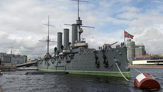 """Экипаж крейсера """"Аврора"""" пополнят 14 образцовых матросов-курсантов"""