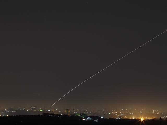 Боевые действия в районе сектора Газы в ночь на 20 июня 2018