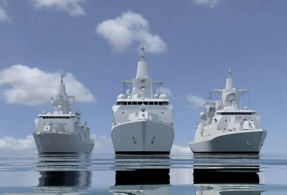 Damen выбрана победителем тендера на поставку многоцелевых боевых кораблей MKS-180 ВМС Германии