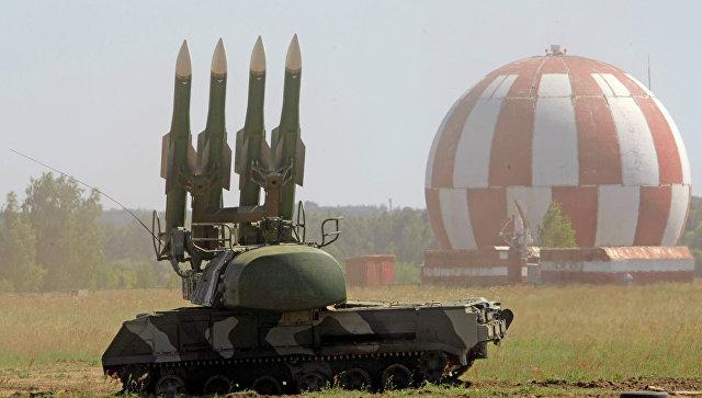 """Комплексы ПВО """"Бук-М2"""" заступили на дежурство в Пензенской области"""