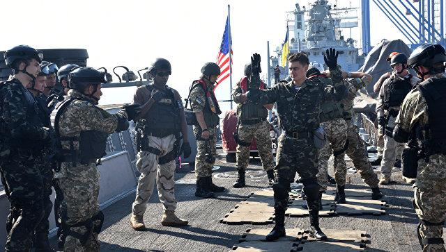 Черноморский флот проследит за учениями Sea Breeze-2017, сообщил источник