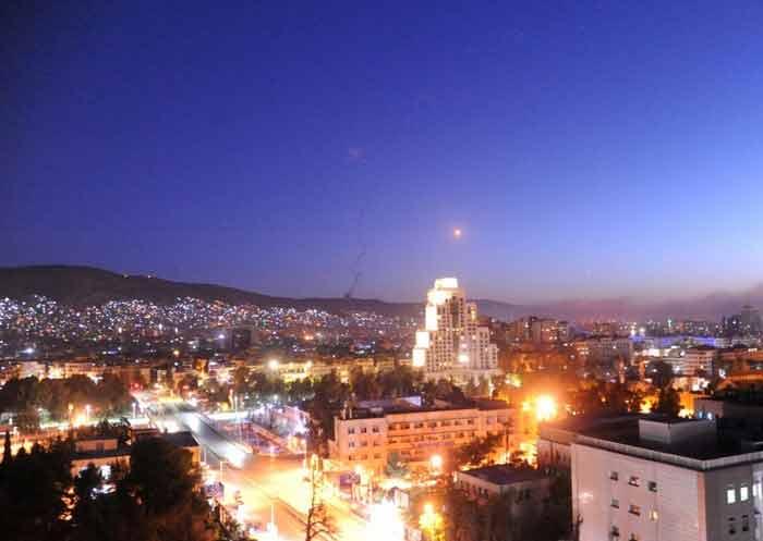"""Израиль """"проверяет"""" противовоздушную оборону Дамаска"""