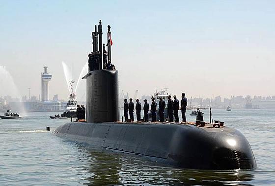 В Египет прибыла головная НАПЛ класса «Тип-209/1400»