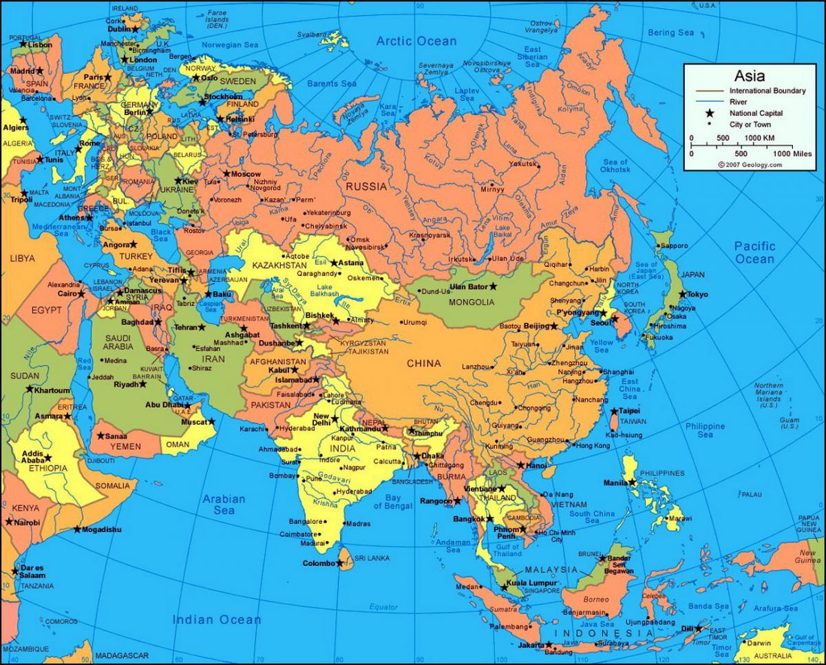 Особенности туризма в странах азии
