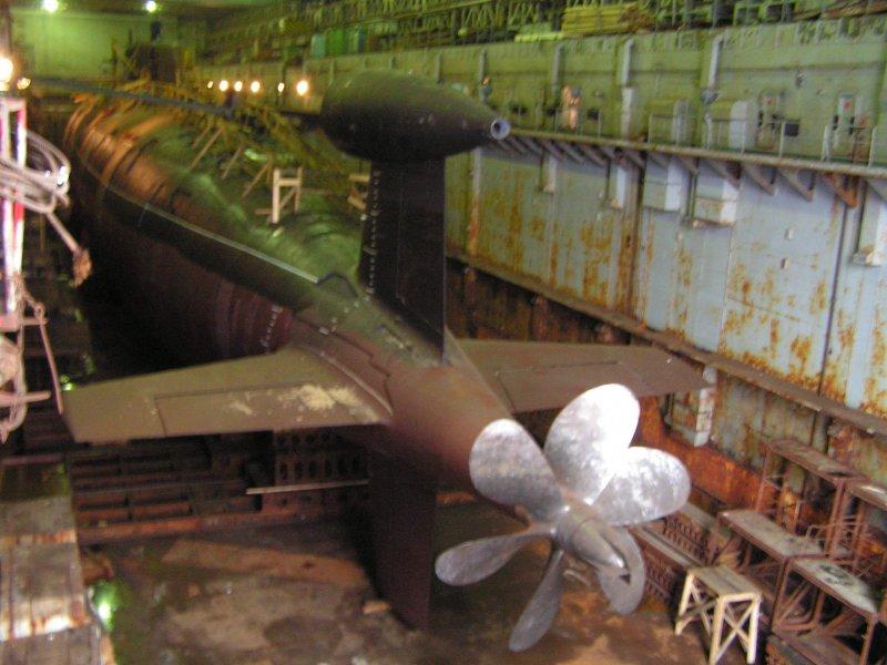 гребные винты на подводных лодках фото