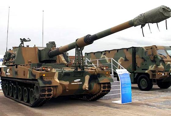 Правительство Индии одобрило приобретение 155-мм самоходных гаубиц K-9 «Тандер»