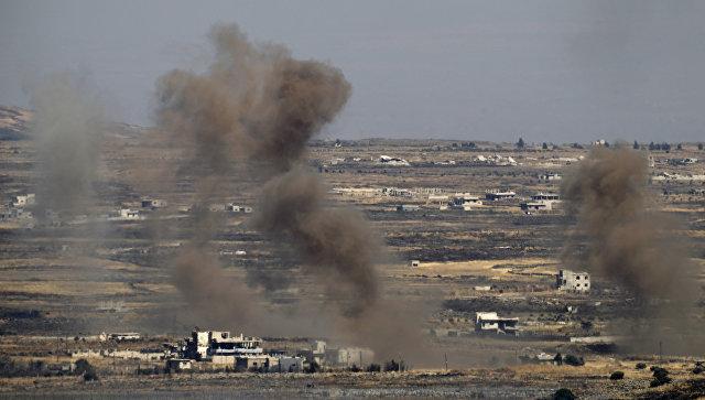 ВВС Израиля атаковали сирийские войска в ответ на случайный обстрел