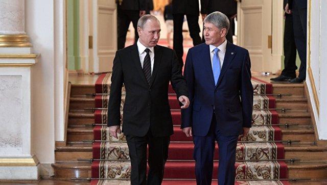 РФ и Киргизия договорились развивать сотрудничество в борьбе с терроризмом