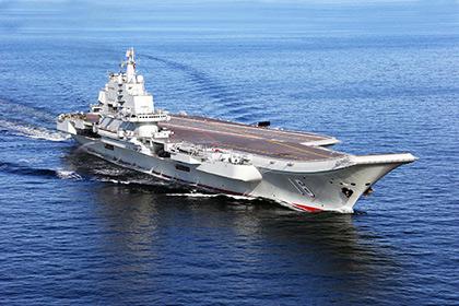 Китай построил корпус первого авианосца собственной разработки