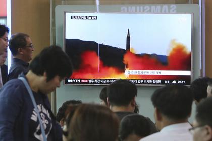 КНДР отчиталась об успешном запуске баллистической ракеты средней дальности