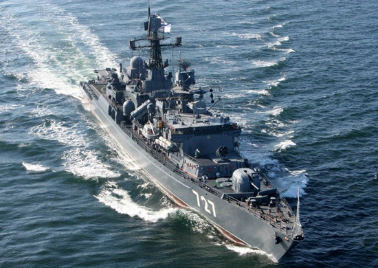 Корабли Балтийского флота вышли в море для сдачи итоговой проверки