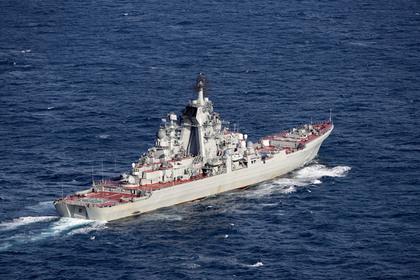 Корабелы определили продолжительность модернизации крейсера «Петр Великий»