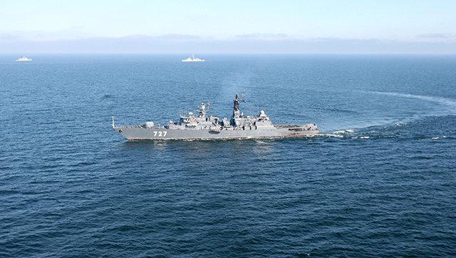 """Сторожевой корабль """"Ярослав Мудрый"""" выполнил все задачи в Карибском море"""