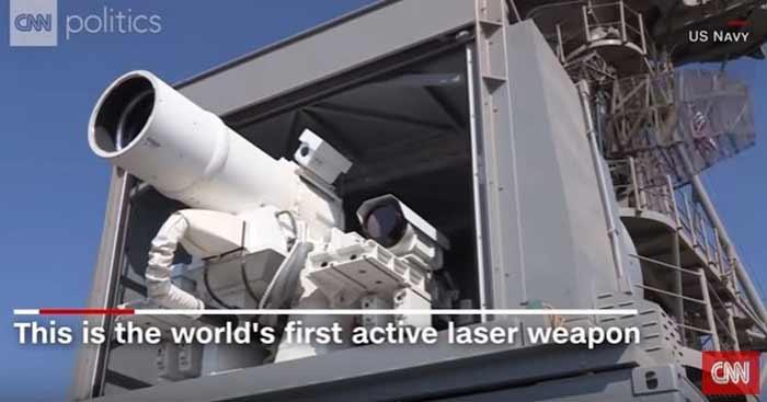 США испытали лазерное оружие в Персидском заливе