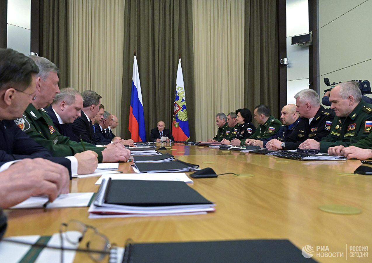 Путин оценил значение лазерного оружия для российских войск