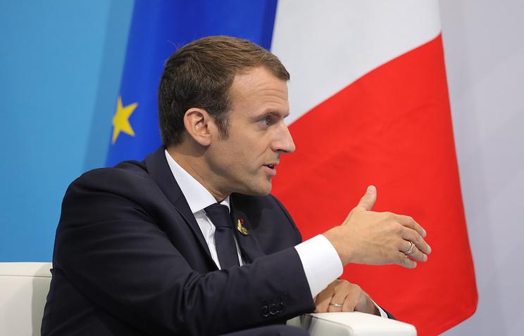 Макрон: переговоры в Версале вывели сотрудничество с Россией по Сирии на новый уровень