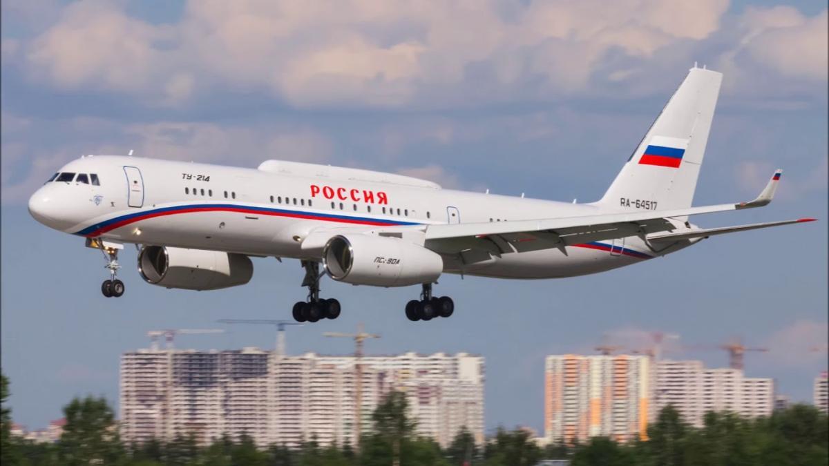 Минобороны передан второй самолет - пункт управления Ту-214 ПУ-СБУС