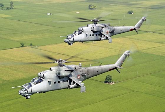 Индия передала ВВС Афганистана четвертый вертолет Ми-25