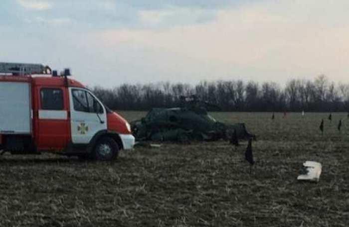 На Донбассе разбился украинский военный вертолет Ми-2