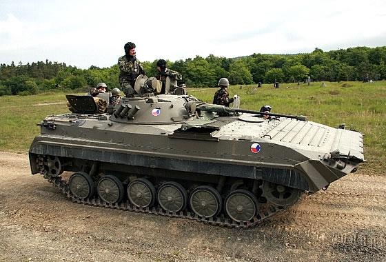 Минобороны Чехии завершило испытания бронемашин пяти претендентов в рамках программы замены парка БМП-1 и BVP-2