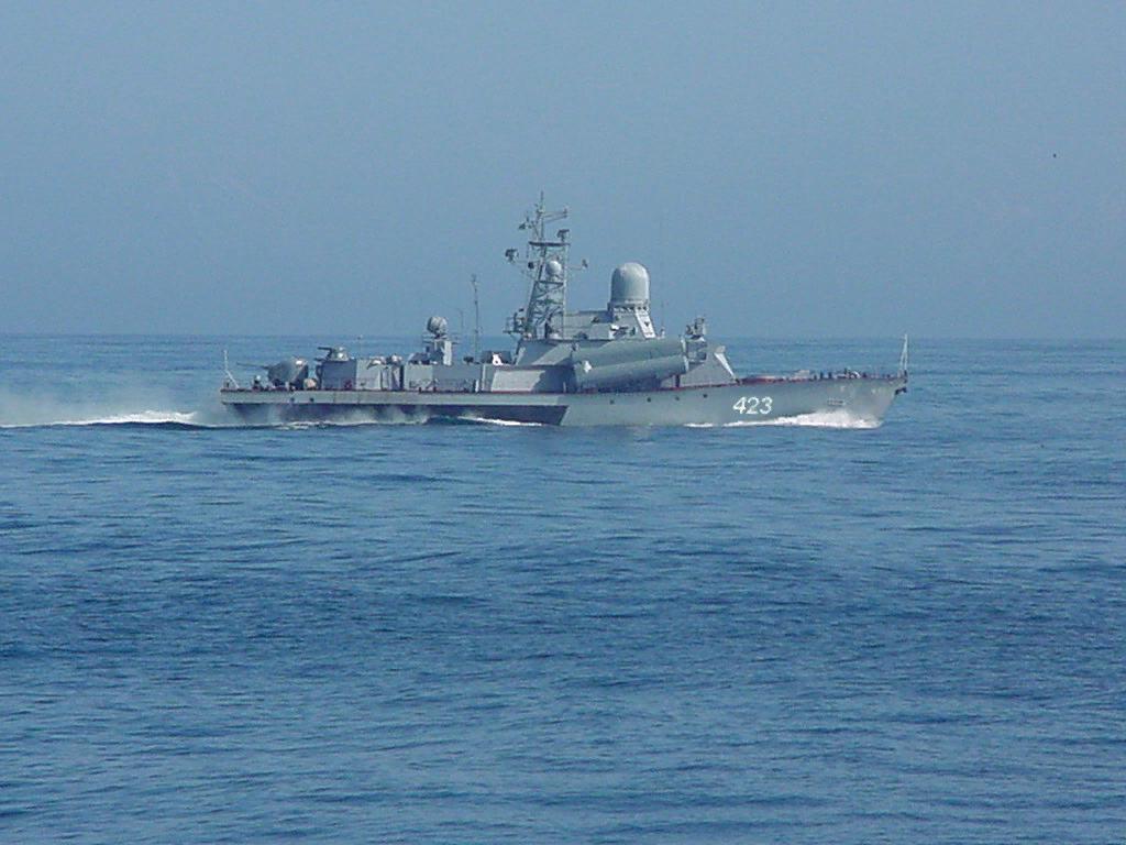 Модернизированный МРК «Смерч» в рамках ЗХИ выполнил артиллерийскую стрельбу в Японском море