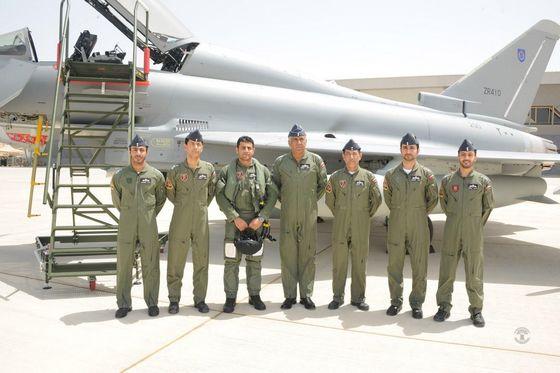«БАе системз» передала ВВС Омана первые истребители «Тайфун»