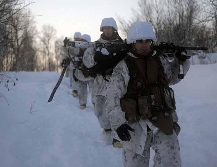 Морпехи США начали готовиться к русской зиме