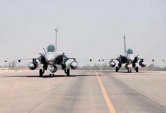 ВВС Египта получили первые одноместные истребители «Рафаль»