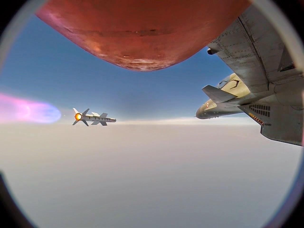 Индия успешно испытала ракету Astra класса «воздух-воздух»