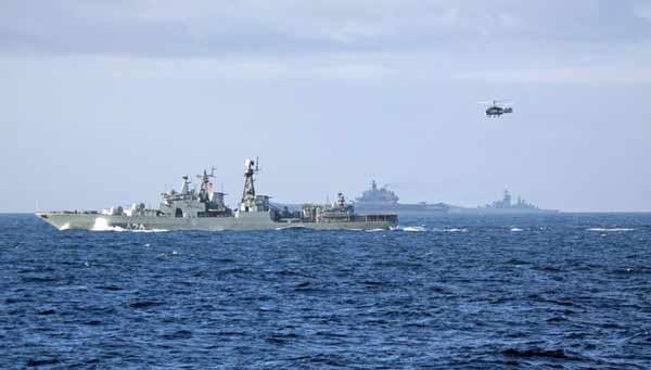 Прохождение российской эскадры через Ла-Манш переполошило Британию