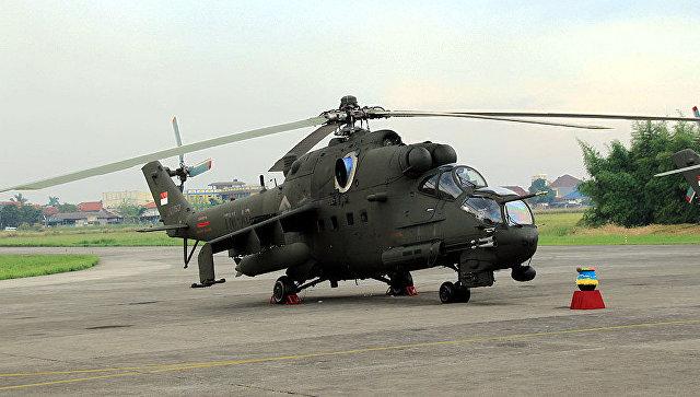 """""""Вертолеты России"""" заключили контракт на капремонт Ми-35П ВВС Индонезии"""