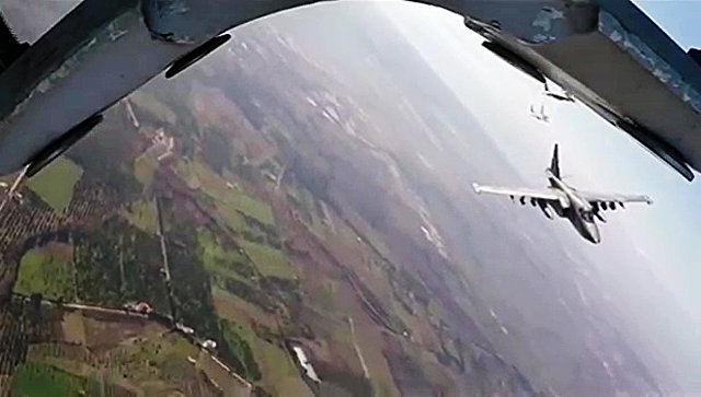 Российские ВКС уничтожили более 120 боевиков, направлявшихся в Пальмиру