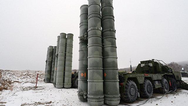 В Крыму прошли учения с развертыванием С-400 на необорудованных позициях
