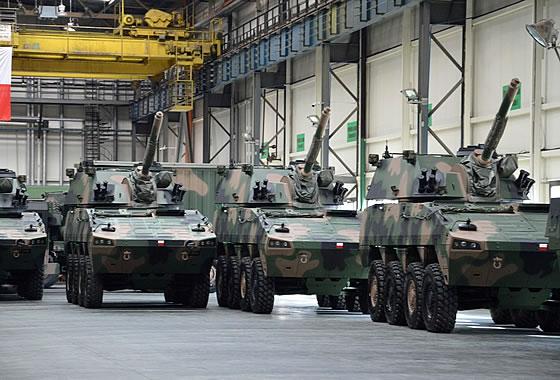 МНО Польши заказало дополнительную партию 120-мм самоходных минометов «Рак»