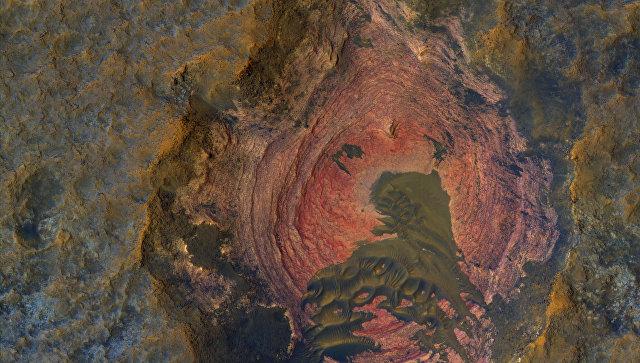 """НАСА показало на фото """"сердце"""" Марса"""