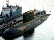 """Дизельная подводная лодка """"Алроса"""" в Севастополе"""