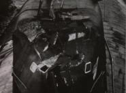 """Боевые повреждения ограждения выдвижных устройств АПЛ К-276 (с 03.06.1992. - Б-276, с 06.04.1993. - """"Краб"""", с 15.11.1996. - """"Кострома"""") проекта 945 """"Барракуда"""" после столкновения 11.02.1992. с АПЛ """"Батон Руж"""" ВМС США"""