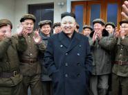 Лидер КНДР Ким Чен Ын в окружении военных