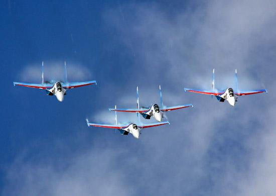 Экипажи истребителей Су-30СМ выполнили полёты в условиях низких температур