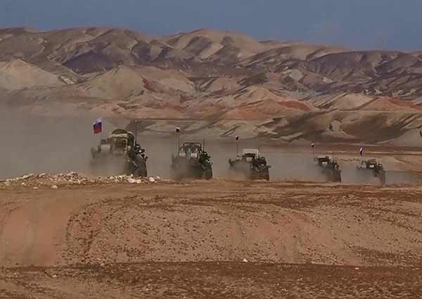 В Таджикистане проходят совместные с российской армией антитеррористические учения